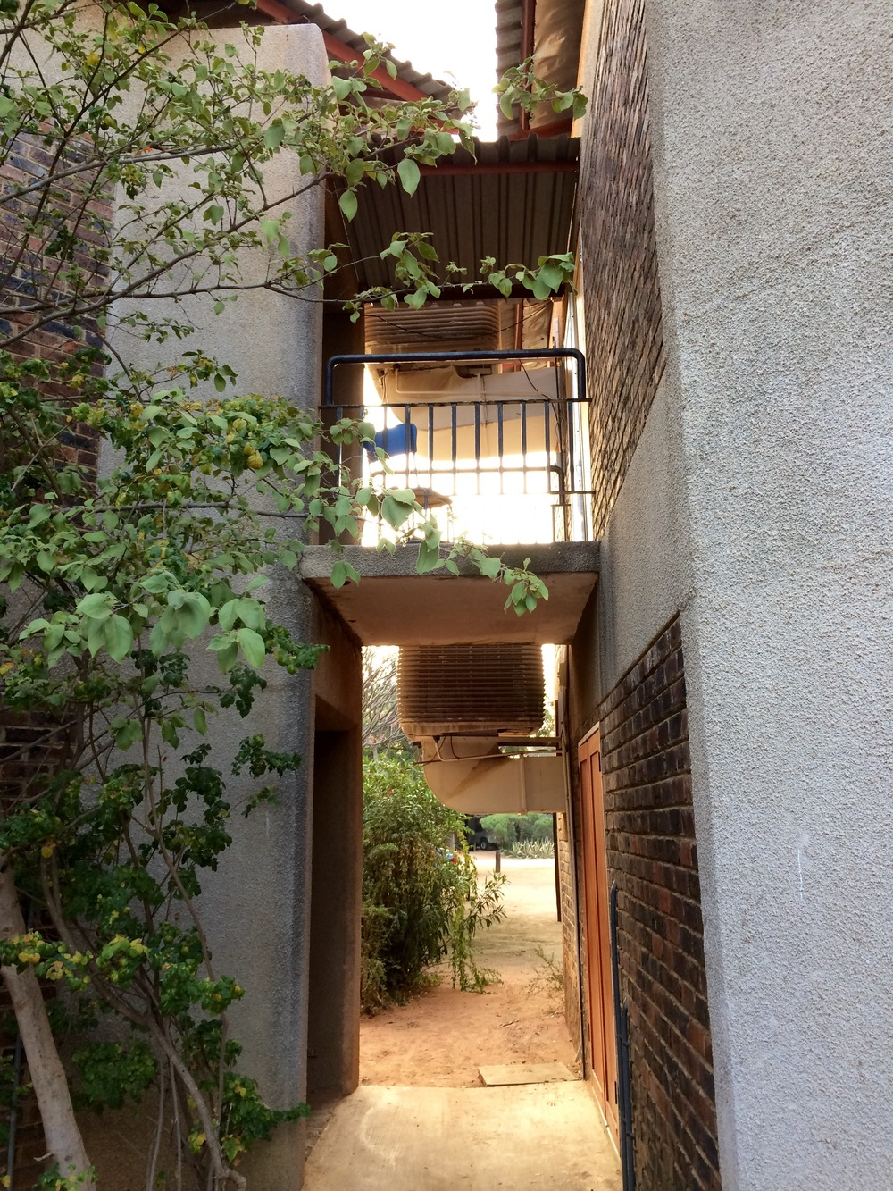 Entryway of our lovely annex. :)