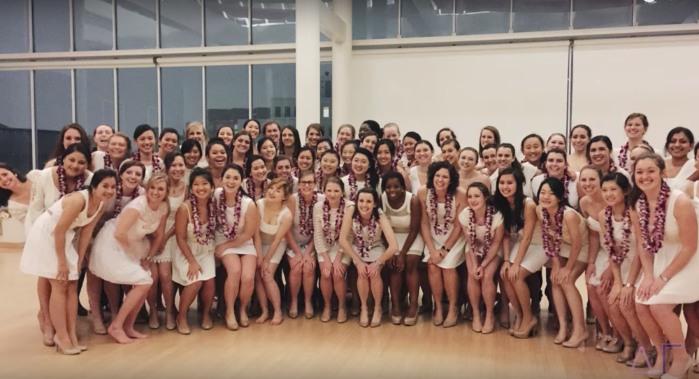 Delta Gamma - Produced a video to encourage women at Harvard to register for recruitment and rush Delta Gamma. (January 2016)