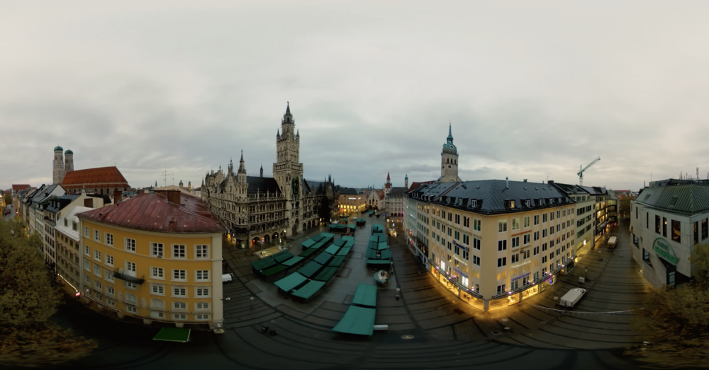 360° capture from Germany.  Photo Credit: Drone Dudes