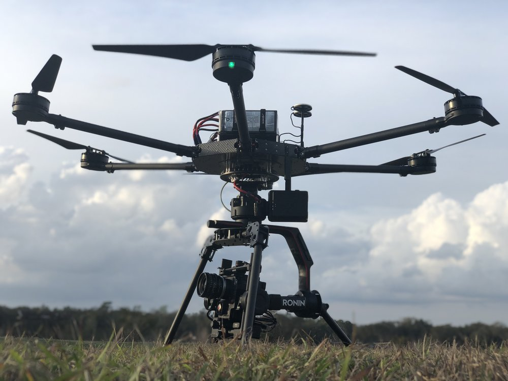 Heavy Lift Drone Aerial Cinematography Specialist Cinema Camera Pilots ARRI Alexa Mini Los Angeles Atlanta