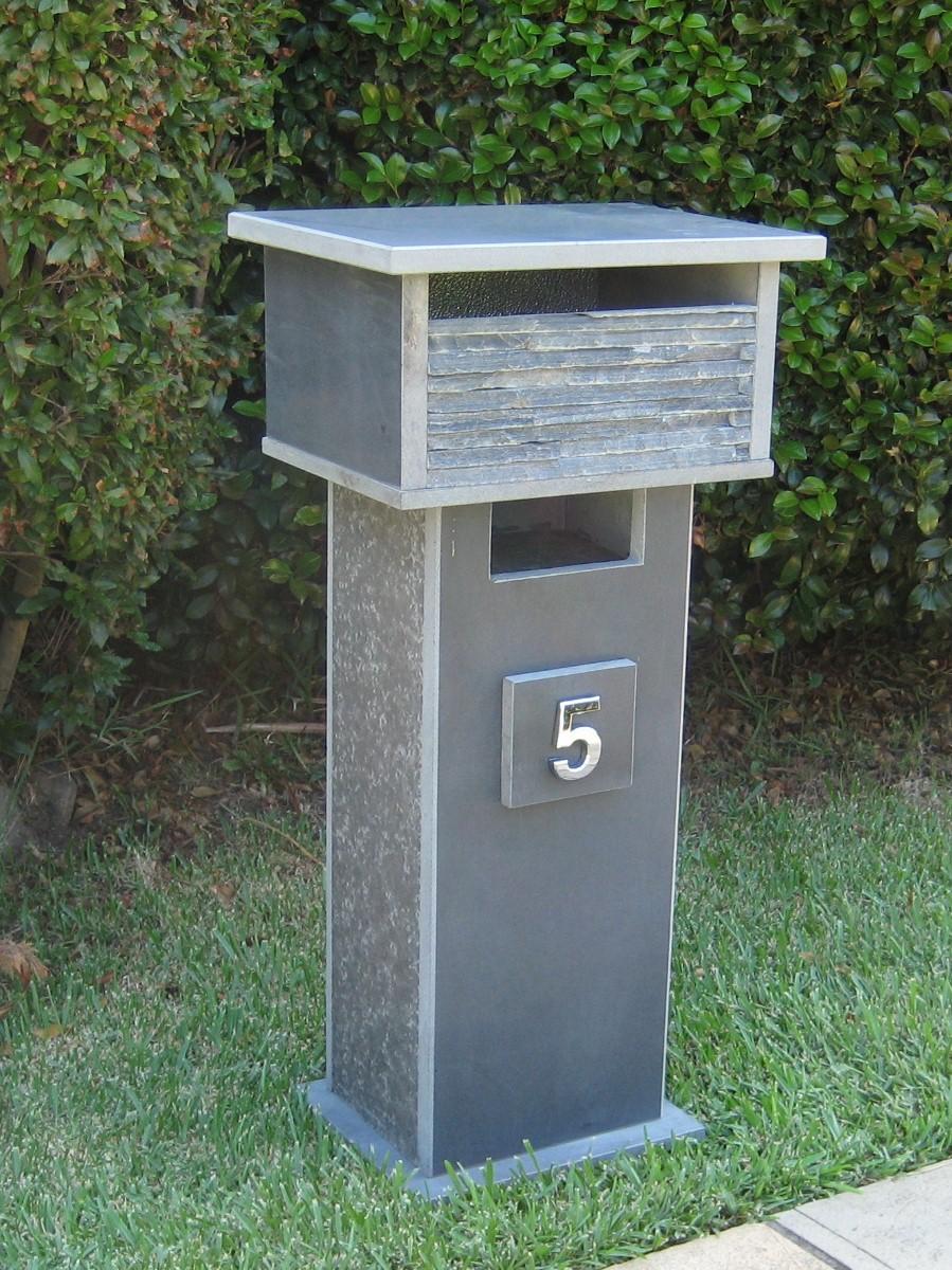 73. Bluestone solid, aluminium back door with 2 key lock 860cm high top part mesure 300mm x 400mm. $473