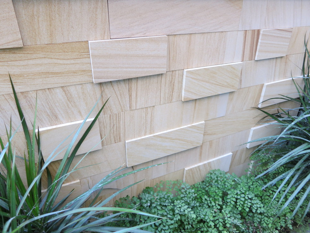 3. Sandstone custom made stacker This is done in our masonry, sizes cut exactly to customer specification