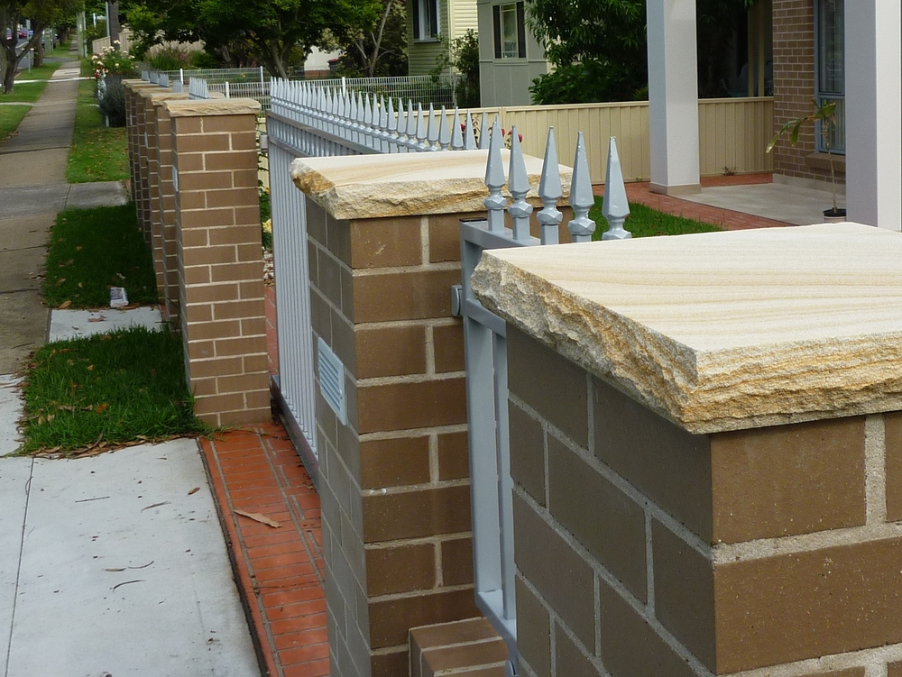 4.Sandstone pier capping 40mm thick (2)