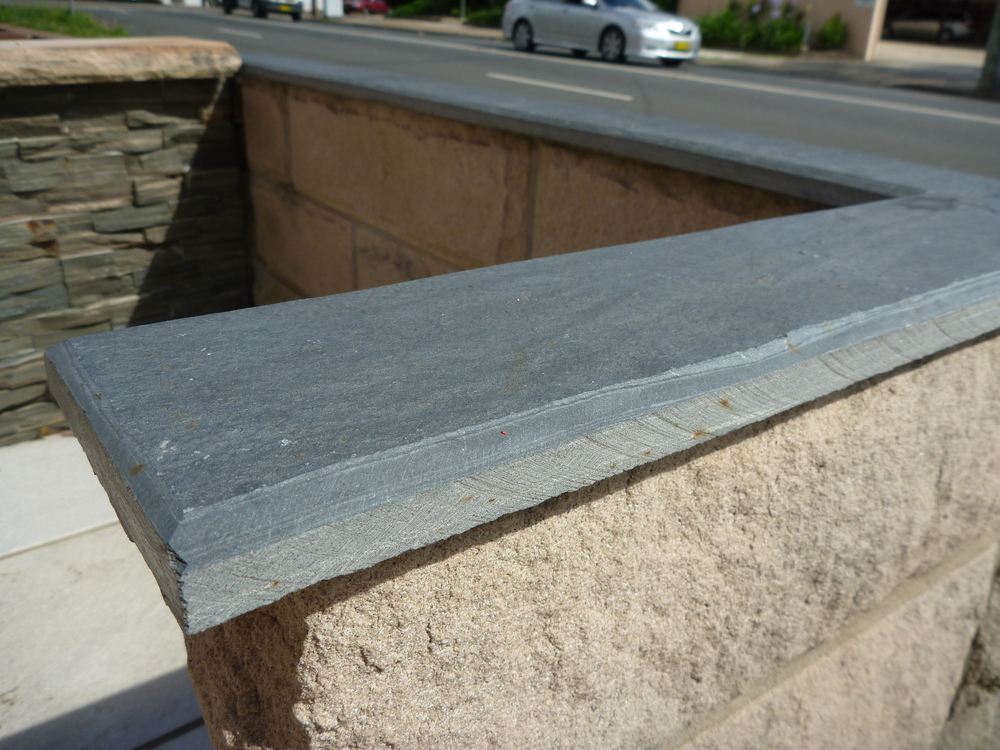 13. Chinese split stone capping for wall