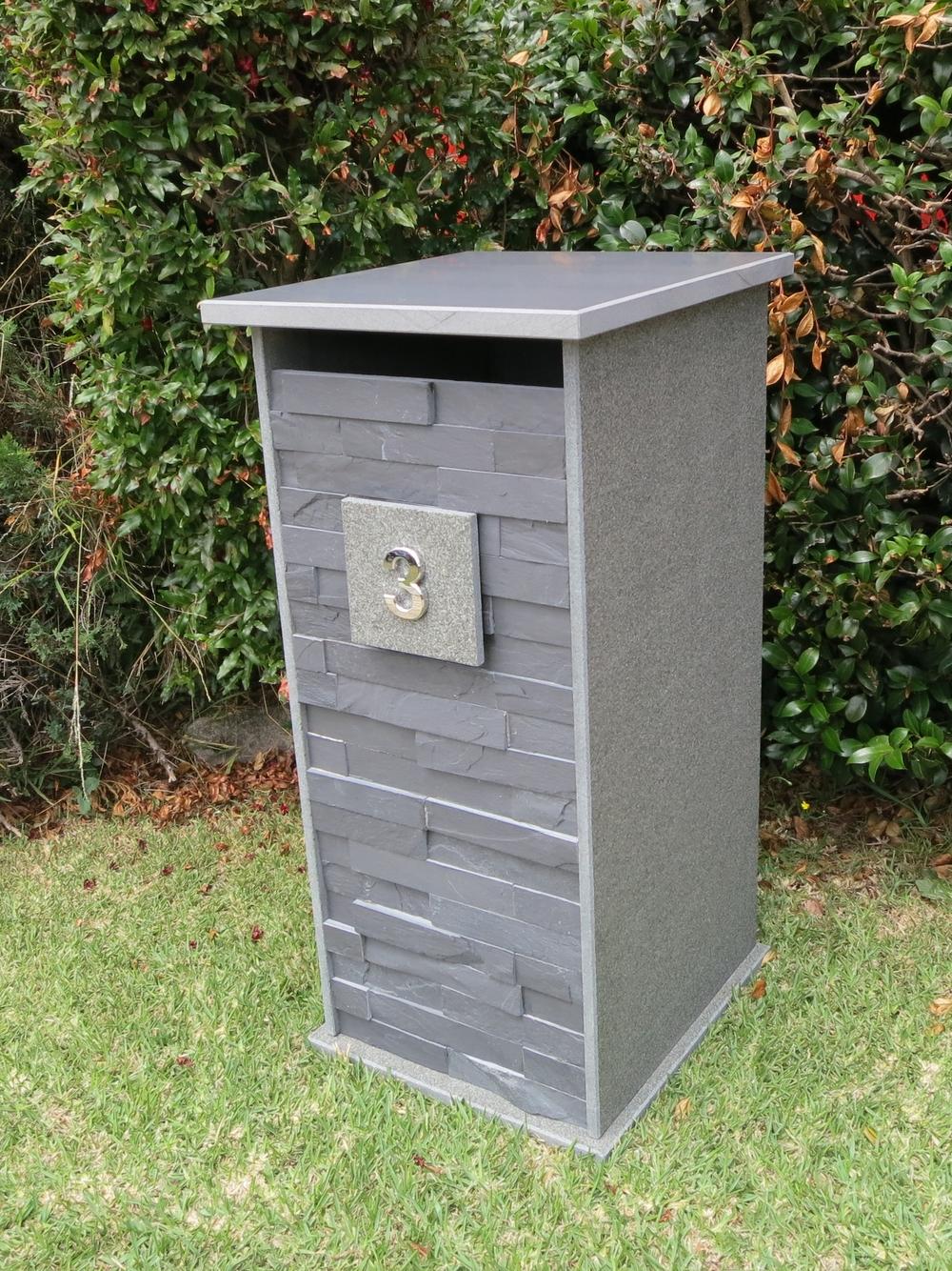 360 Bluestone letterbox 860 mm high $685.JPG