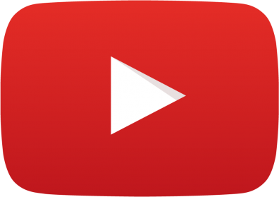 [Image Description: The famous red and white YouTube play button. It consists of a red background with a white sideways triangle.]
