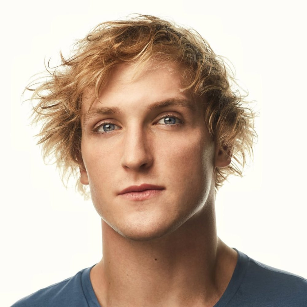 [Image Description: A photo of Logan Paul, a white male with shaggy blonde hair.]