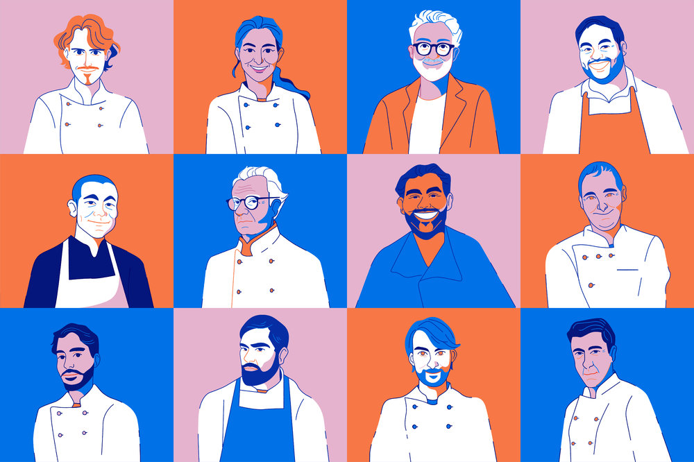 FOOD & DRINK  |  THE FINE DINING DOZEN , 2018