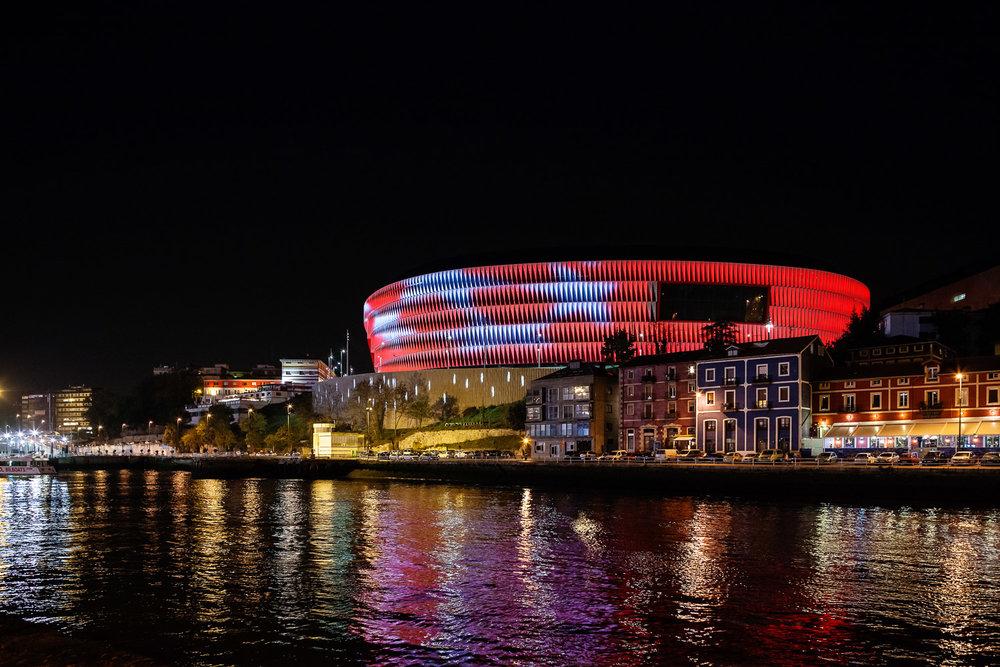 New San Mames Stadium. Bilbao, Spain