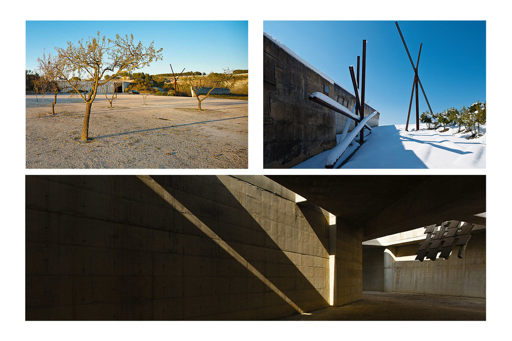 Igualada Cemetery by Miralles-Pinos. Barcelona, Spain