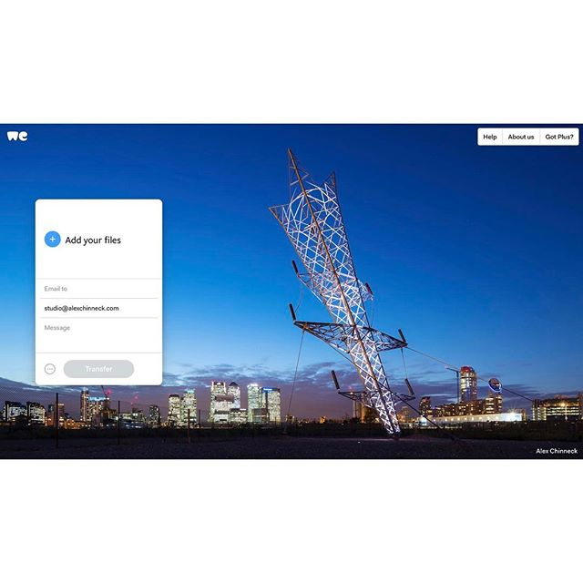 Wetransfer Wallpaper - Alex Chinneck Pylon