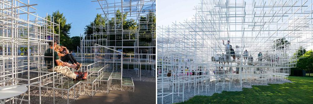 Serpentine Gallery Pavilion 2013  Designed by Sou Fujimoto