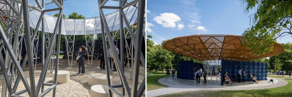 Serpentine Pavilion 2017 designed by Francis Kéré
