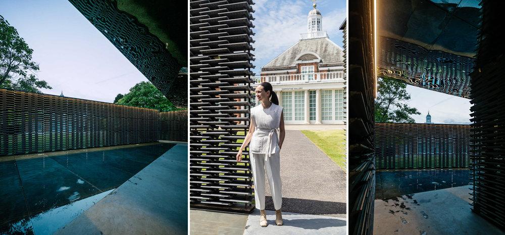 Serpentine Pavilion 2018 designed by Frida Escobedo