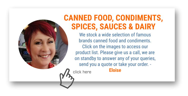 Click here to go to Canned Food and Condiments.