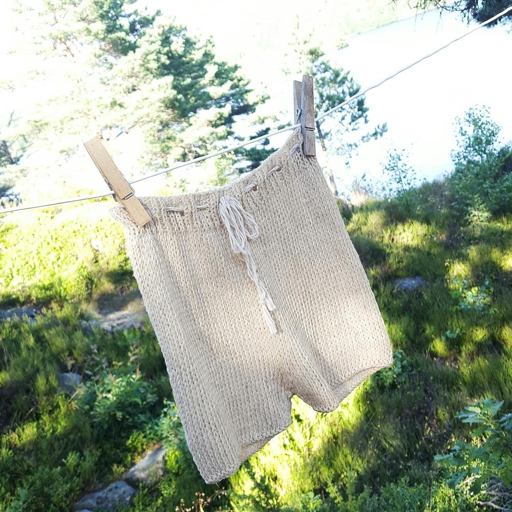 Vel fremme og nyvaska på snora