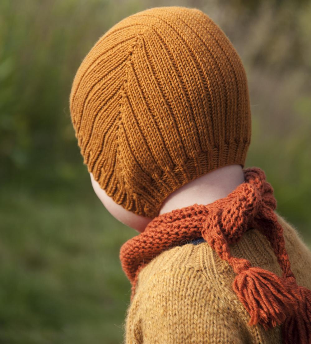 Birkeluei Lerke 3046 - Brun og Enkel halsi Cotton Merino 25 - Rust
