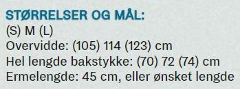 """Skappelgenseren i Print fra """"Klart du kan"""" - M er 114 cm!"""