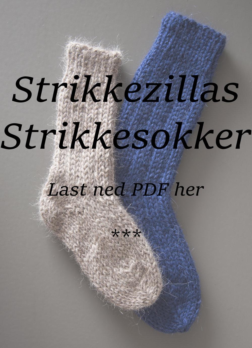 StrikkesokkerPDF