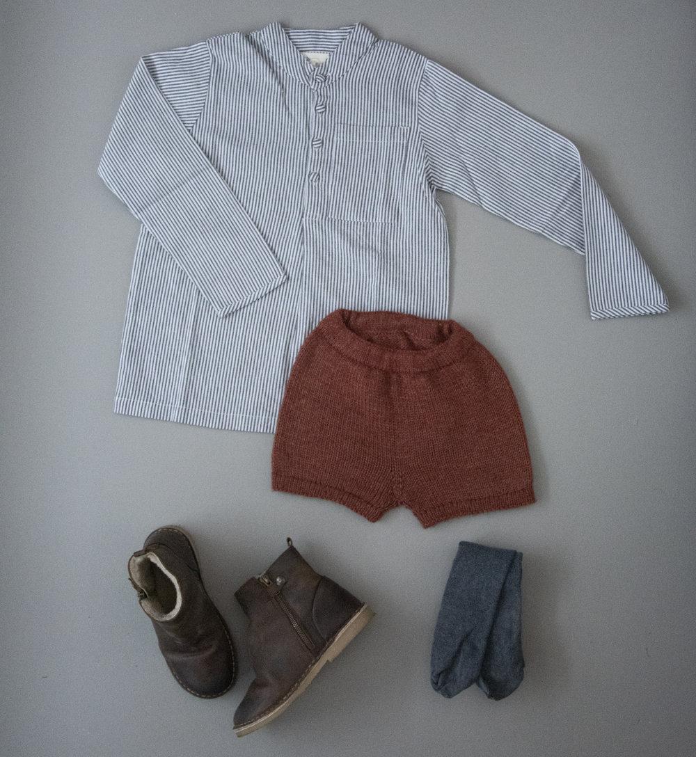 Liten enkel shorts