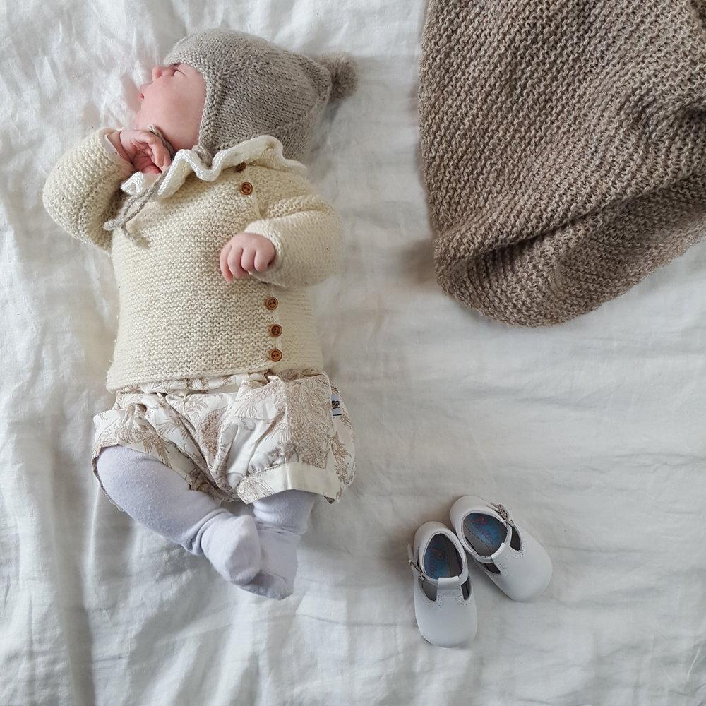 Rillejakke til baby