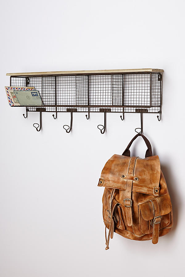 Anthropologie: Wire Wall Cubby