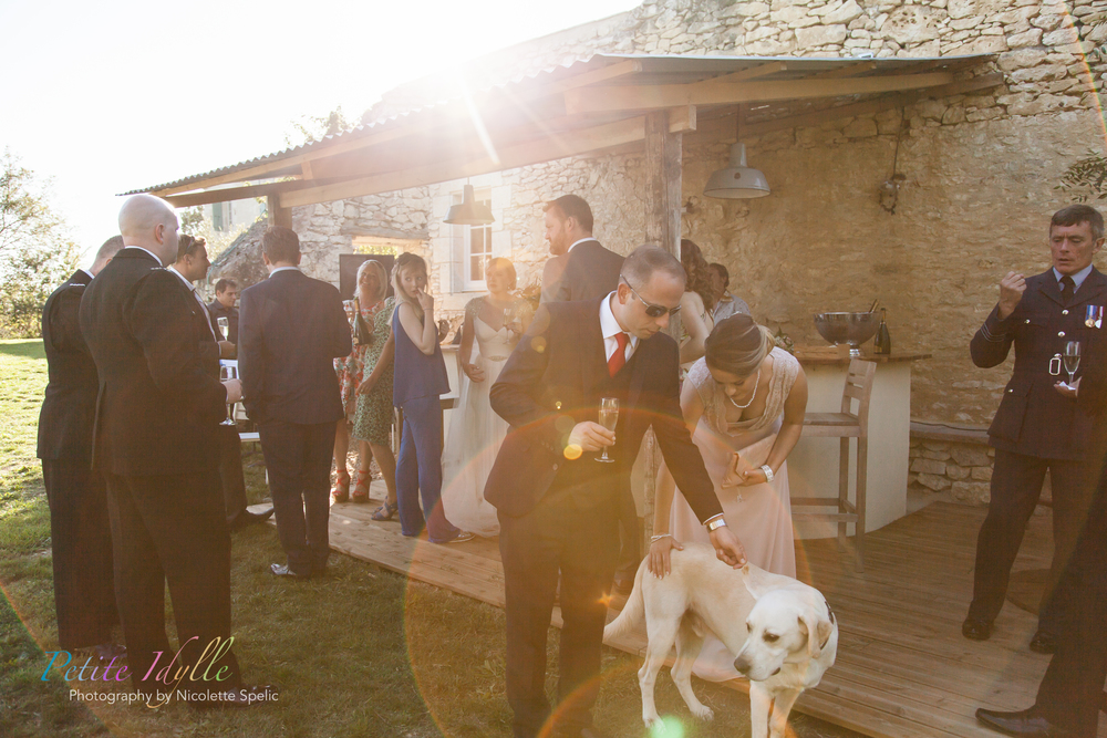 Venue - Chateaux in Gascogne France  Wedding Photography - Nicolette Spelic Photography