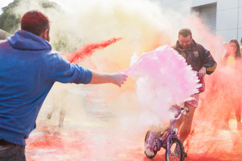 Longford Colour Run 2016 -  Nicolette Spelic Photography