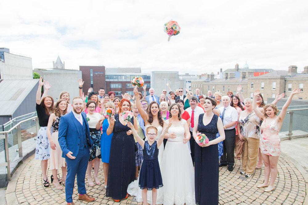 Venue: Radisson Blu Royal Hotel Dublin Wedding Photography - Nicolette Spelic Photography