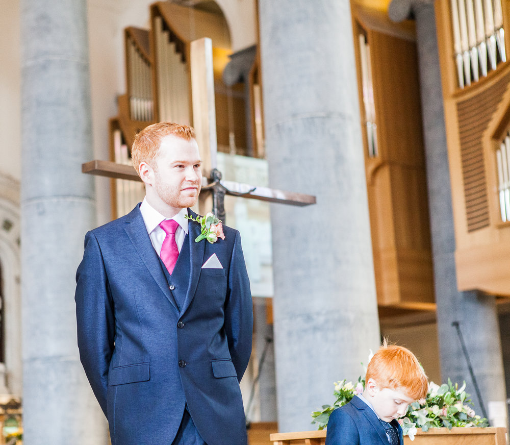 Venue:  Longford Cathedral   Wedding Photography: Nicolette Spelic Photography