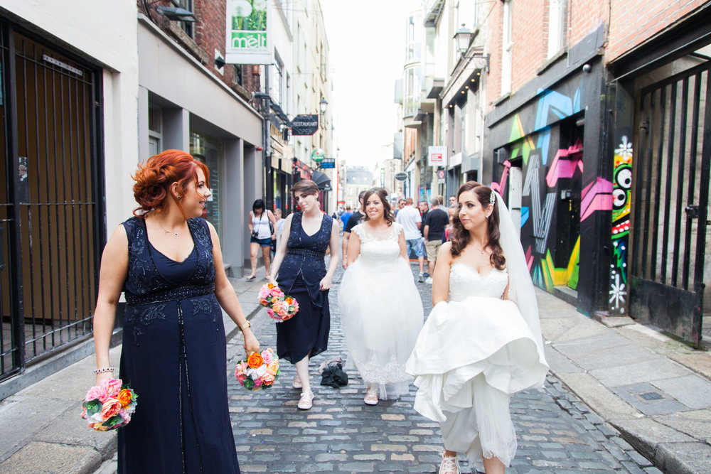 Urban Wedding in Dublin - Featured in the  Irish Times