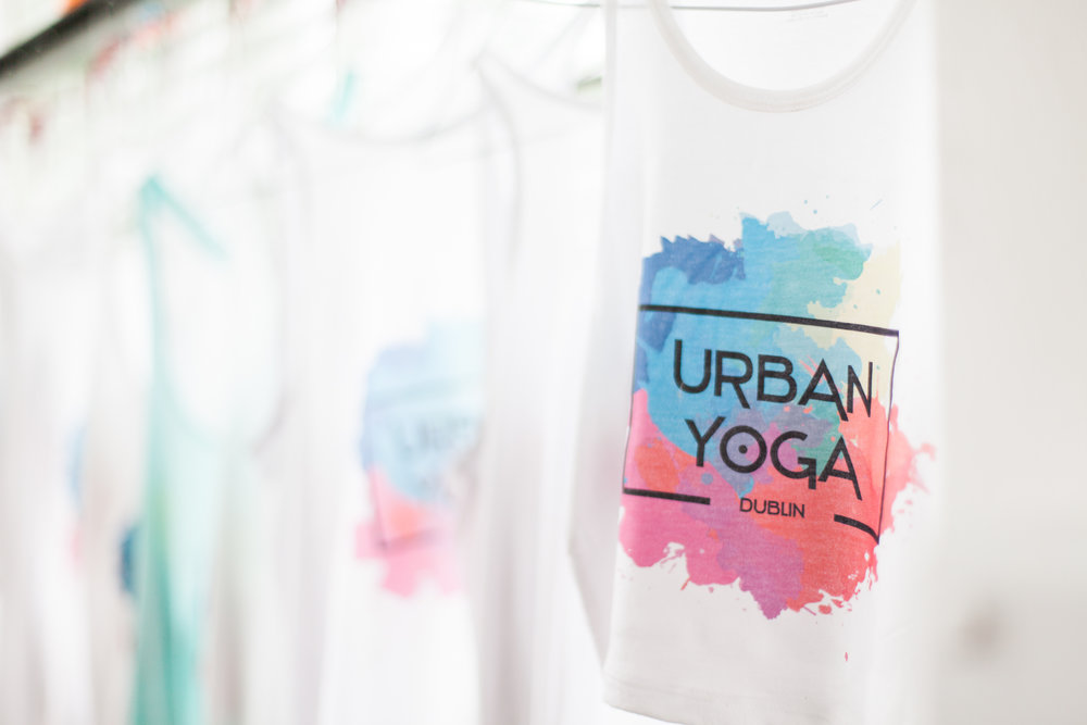 Urban Yoga Dublin - available in the Studio in D7
