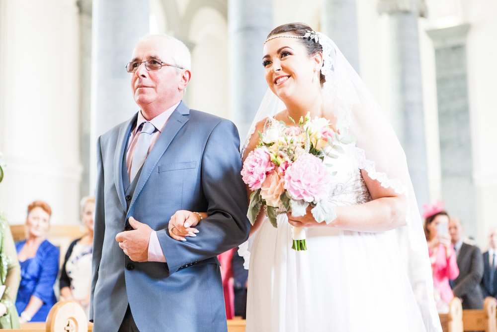 County Longford St Mel's Cathedral Longford Wedding Photography Ireland