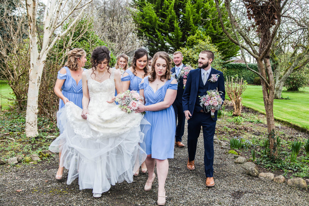 Wedding Photography Ireland, Leixlip Manor