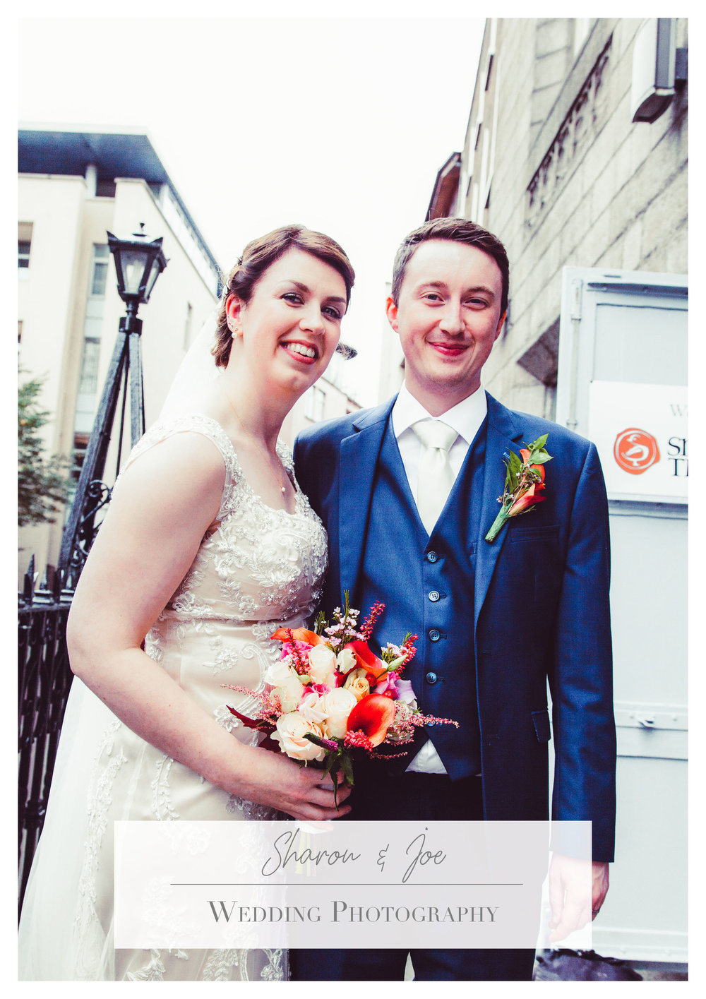 Wedding in Dublin, Smock Alley Theatre & The Westin Hotel Dublin, 2017