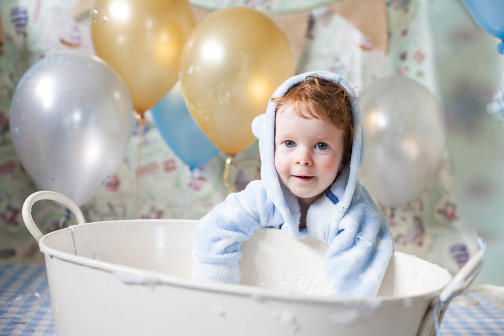 Bubble Bath photography