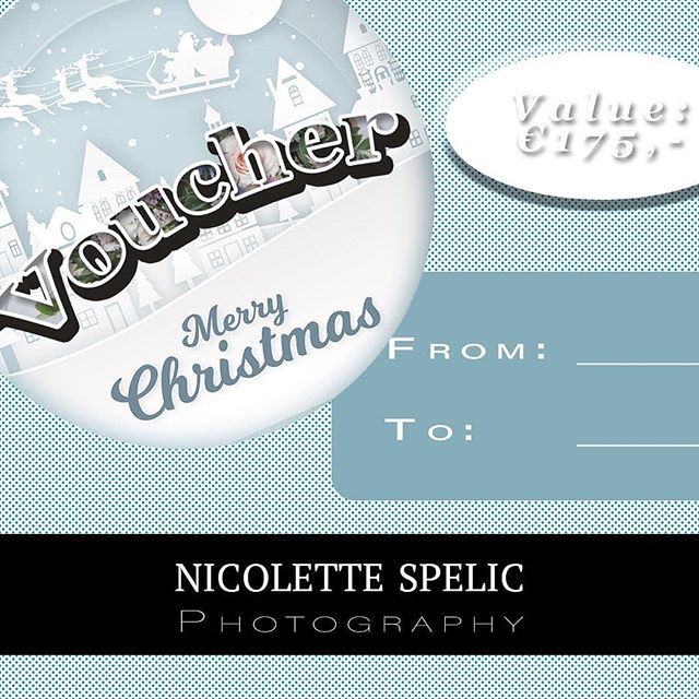 "🎄 🤗 It's ""that"" time of the year. 🤗 🎄  Just as last year we have vouchers available for you to purchase online. Once purchased I will get in touch with you. You will receive a customized voucher with a unique code in the post before Christmas - please order in time!  To avoid disappointment available vouchers cover a full shoot, travel & photographs. Please have a look at different options.  For customized options please email or call.  email: spelic_nicolette@icloud.com phone: 085 740 7316  Vouchers can cover the following events: *family experience *newborn *anniversary/birthday party *engagement *1st birthday cake smash party  Digital files only or wooden USB stick & with or without large wooden box & prints  http://www.nicolettespelicphotography.com/photography-ireland-voucher-christmas/  Dates are available from March 2019 and vouchers are valid for 1 year.  #wedding-photography  #bridaldress #dublin #ireland #sligo #midlands #millparkhotel #weddingdonegal #workingmumto #maternityleave  #truelove #nicolettespelicphotography  #familyinireland #familyphotography #weddingideas #weddingblog #loveauthentic #wearefamily #travelbuddies  #wanderlust #travelfamily #travelgram #fotograf #hochzeitsfotograf #fashionphotographer  #irishblogger #instawedding  #instawedd #breastfeeding #workingmum"