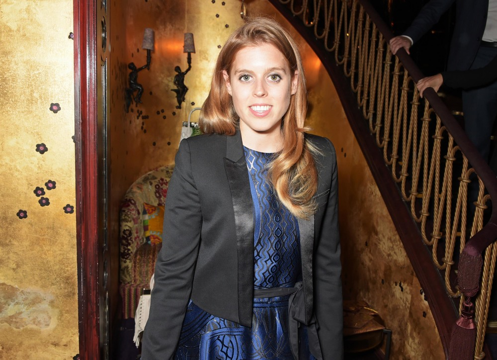 Princess Beatrice joins this year's judging panel for Oscar's Book Prize. Picture by Dave Benett.
