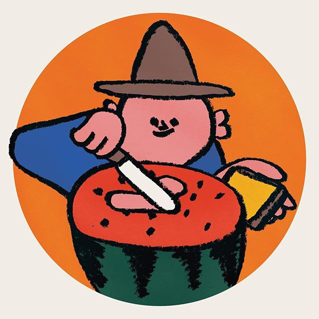 In Watermelon Butter the deeds were done and done again as my life is done in watermelon butter.