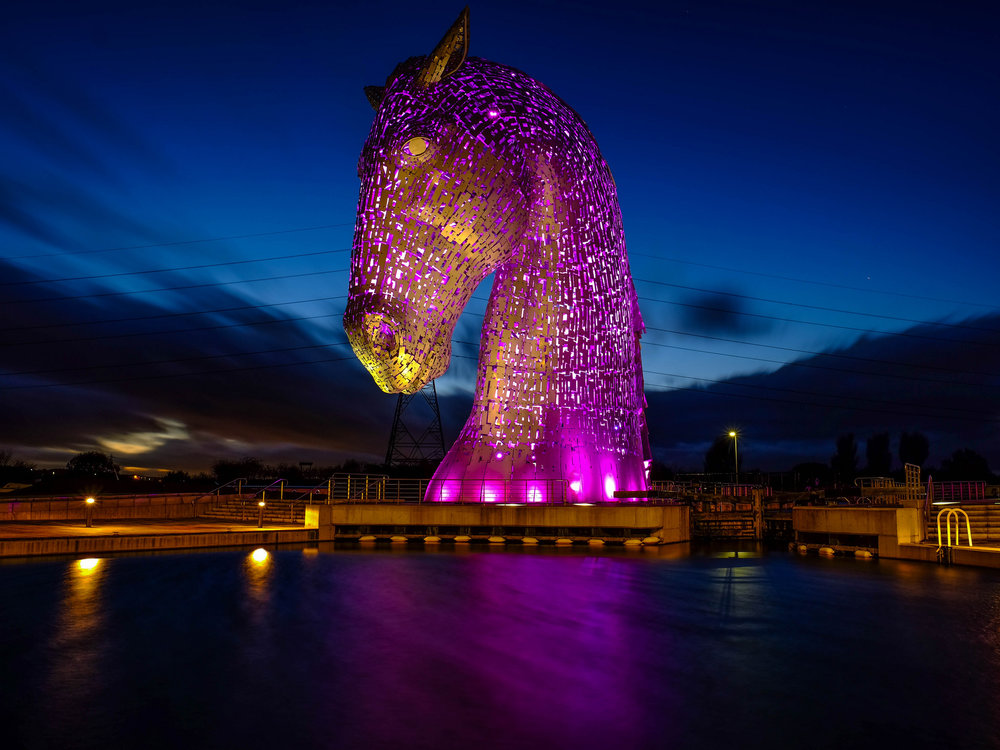 Kelpies of Falkirk
