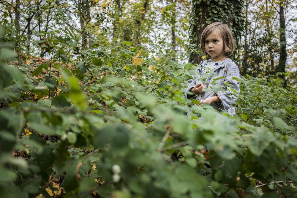 Eines meiner besten Porträts - Mädchen draussen im Grünen