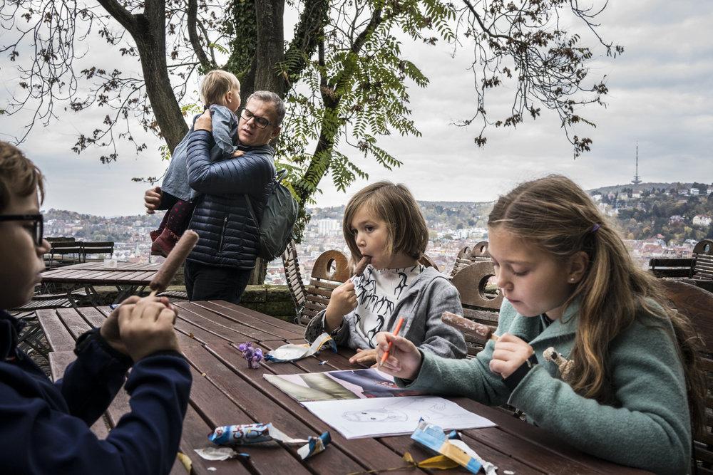 Eines meiner besten Familienfotos draussen in Stuttgart