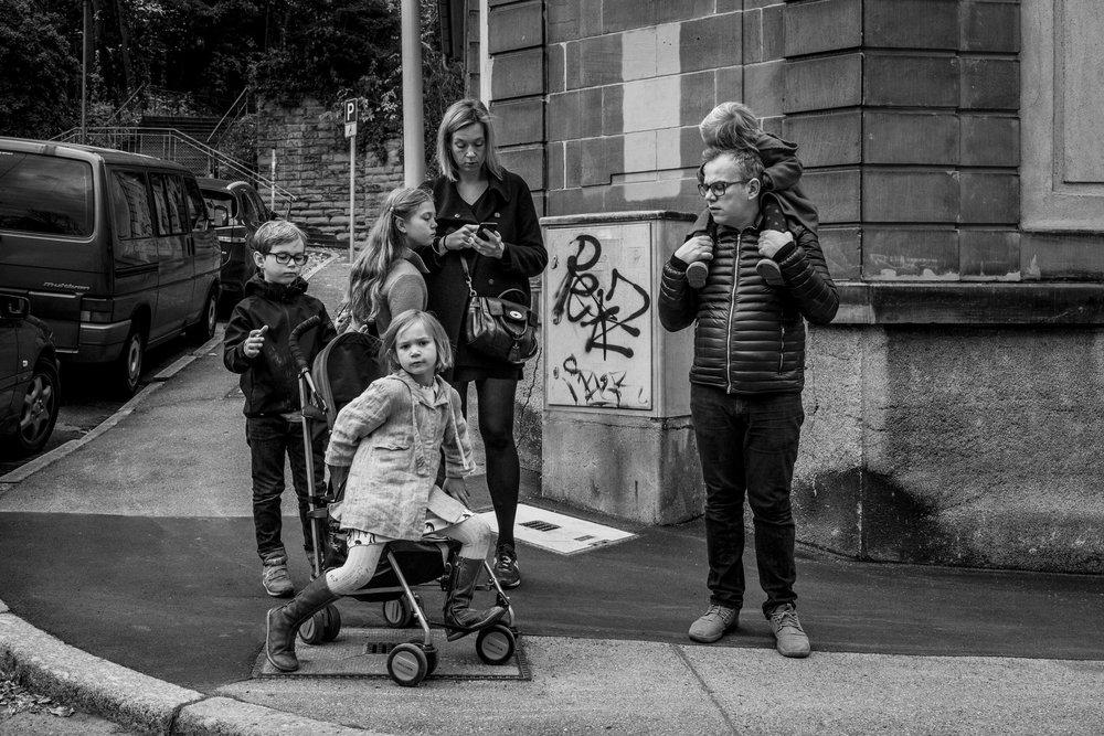 Eines meiner besten Familienportraits - draußen in Stuttgart