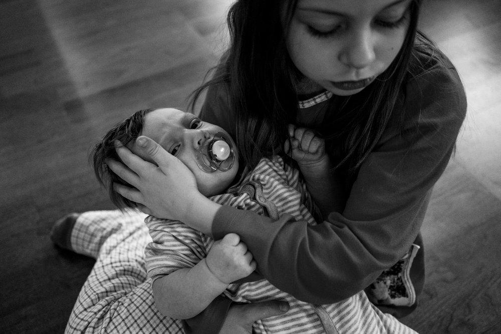 Copy of Babyfotos mal anders - Familienfotografin zeigt Neugeborenenreportage