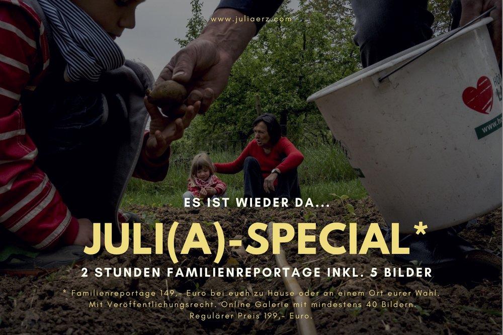 Familienreportage - Familienfotos