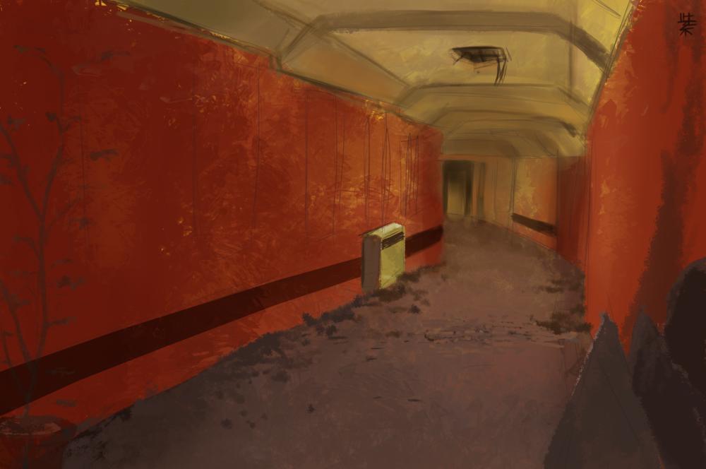 Concept Art - Hallway