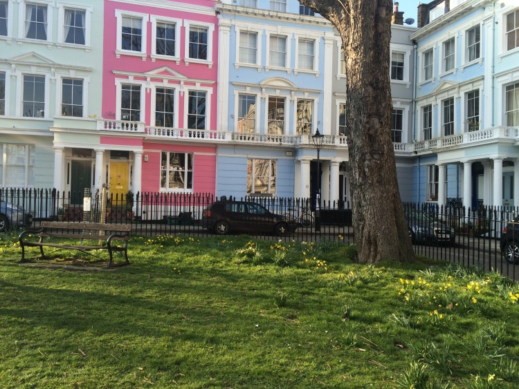 The beautiful Chalcot Square, Primrose Hill