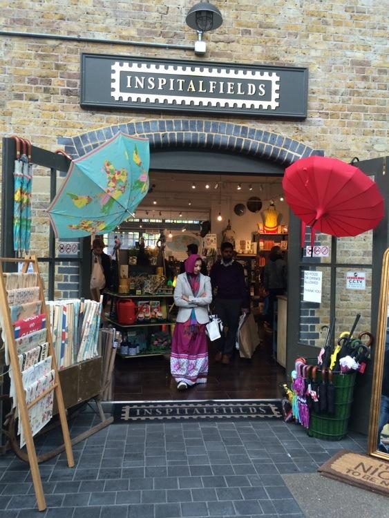 Family Blog - Spitalfields Market 4