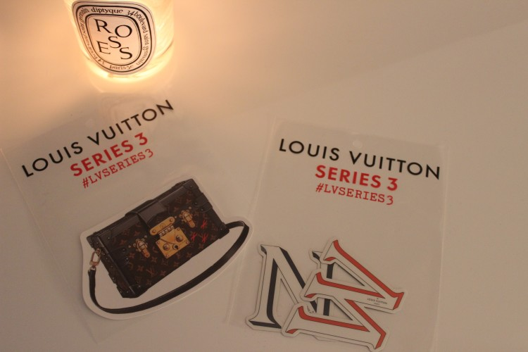 Louis Vuitton Series 3 stickers
