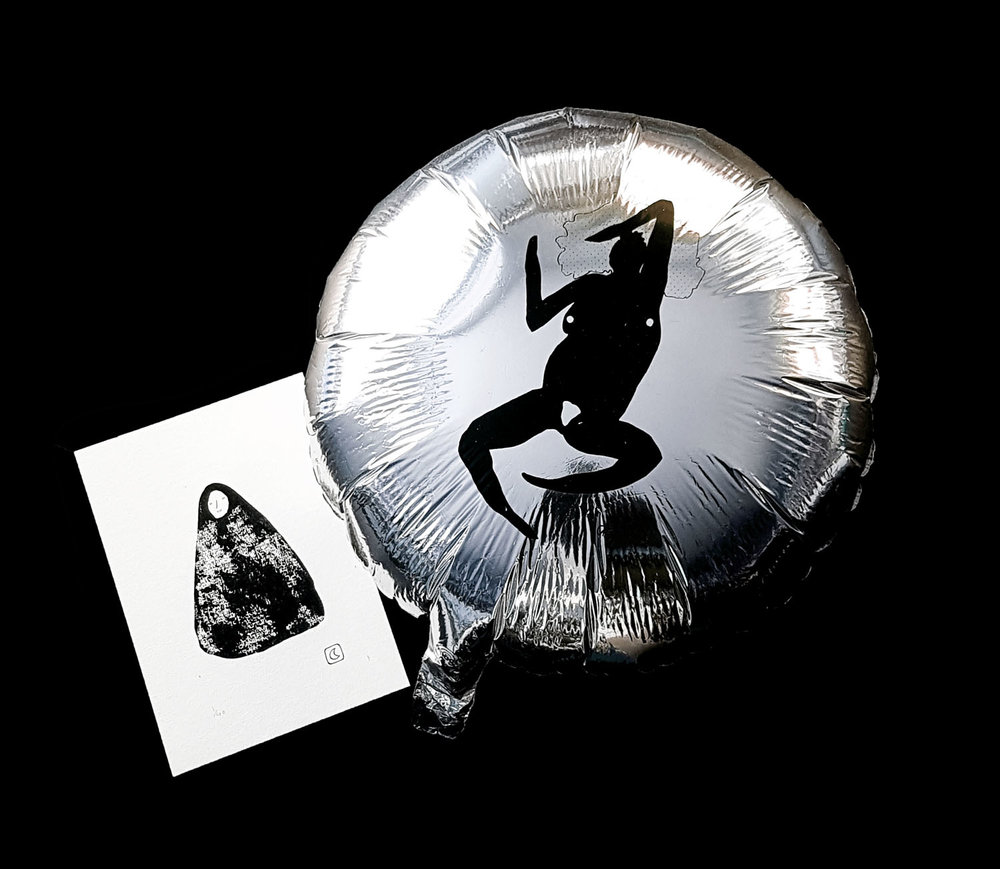 claire de lune art balloon shop gift